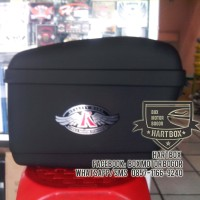 harga Box Motor Kmi Side Box Warna Hitam Tokopedia.com