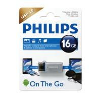 FLASHDISK PHILIPS 16GB OTG USB 3.0