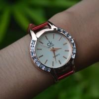 Jam Tangan CK Fashion Merah