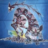Lukisan Batik Tulis Asli Yogya