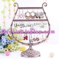 harga Display Pajangan Anting Giwang Model Harpa Logam Tokopedia.com