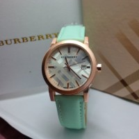 JAM TANGAN BURBERRY NEW ARRIVAL LEATHER-TOSCA