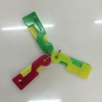 alat bantu masukkan benang ke jarum 3 warna