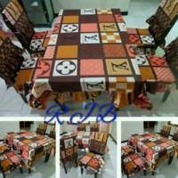 harga Sarung Kursi makan 4pcs + taplak meja Tokopedia.com