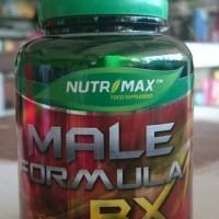 harga Suplemen Pria Untuk Masalah Seksual Nutrimax Male Formula RX Tokopedia.com