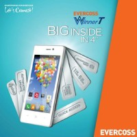 harga EVERCOSS A74A WINNER T - ANDROID QUAD CORE 4