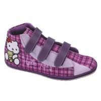 Jual Sepatu Boot Anak Perempuan Hello Kitty Lucu Ungu Modis Terbaru Murah Murah