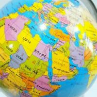 Bola Dunia 18,2cm Globe Meja Murah Bola Dunia Murah