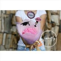 harga Kado Wisuda / Graduation Gift Buket Bunga Handmade Bouquet Tokopedia.com
