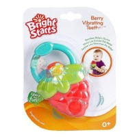 Bright Starts Berry Vibrating Teether Color Red Age 0M+