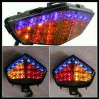 Lampu Stop LED vixion new 3 in 1 super Terang