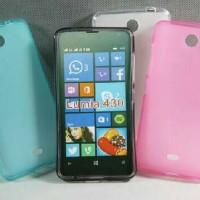 Nokia Lumia 430 Casing Soft Case Cover
