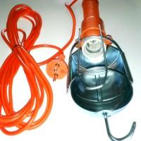 harga Lampu Kerja Oranye Gantung + Saklar Portable Kabel 3 M Working Lamp 3m Tokopedia.com