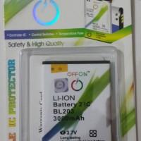 Baterai Double Power Lenovo Tipe  bl203 /a316i / A369i / Bl214