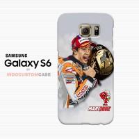Cartoon Foto Marc Marquez MM93 Samsung Galaxy S6 Custom Hard Case