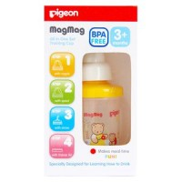 PIGEON Mag-Mag All in One Set Training Cup / Gelas minum bayi