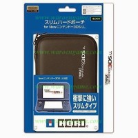 HORI New Nintendo 3DS LL XL Slim Hard Pouch Case (Black)