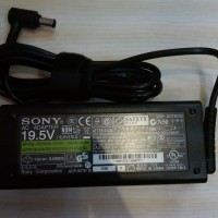 harga Adaptor Charger Laptop Sony Vaio Original. 19.5v 4.7a Tokopedia.com