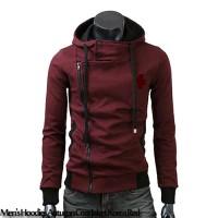 Men's Hoodies Autumn Coat Jaket Korea Red
