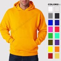 Jual Hoodie Jumper Capucone Polos M,L,XL (17 warna) Murah
