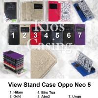 harga Oppo Neo 5 - Flip Cover View Stand Case Sarung Casing Tokopedia.com
