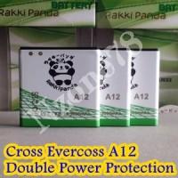Baterai Cross Evercoss A12 Rakkipanda Double Power Protection