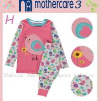 harga Piyama anak perempuan Mothercare 3H Big size 8-12 tahun sweat bird Tokopedia.com