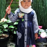 Atm225a- Grosir Busana / Baju Muslim / Gamis / Jilbab Ukuran 5,6,7