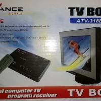harga Tv Tuner Advance Atv-318b Crt +  Konverter Av To Vga Tokopedia.com