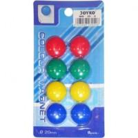Magnet Bulat Diameter 20mm (Pack 8 Pcs)