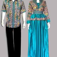 Couple GAMIS Hijab MUSLIMAH Batik MEGA MENDUNG