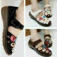 harga Sandal Sepatu Flat Wanita Cantik Serbuk Seribu Tokopedia.com