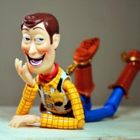 Revoltech Woody Toy Story DIsney Pixar KW