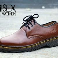 harga Sepatu Murah Dr. Martens Low Boots Unisex Man-woman Coklat Tokopedia.com