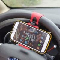 harga Car Holder Stir Mobil Universal Hp Clip Mount Lazypod Tokopedia.com