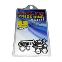 Hammer Head Solid Ring Jigging 8 Style