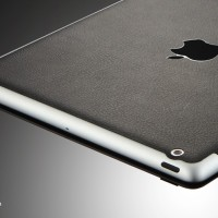 SGP Leather Skin Guard for iPad 2 - Deep Black