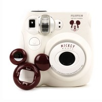 Kamera Instan / Camera Instant Polaroid Fujifilm Instax Mini 7s Mickey