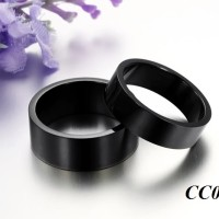 harga Cincin Tunangan Original - Black Titanium Ring Tokopedia.com