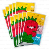 [TONYMOLY] Homeless Strawberry Seed 3-step Nose Pack 6g Komedo