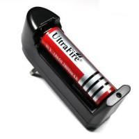 harga Charger/Cas Baterai UltraFire/Batre/Batrei Senter LED Batu CR123/16340 Tokopedia.com