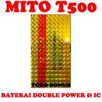 Baterai Mito T500 Double Power M Com