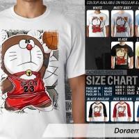 harga Kaos Doraemon 19 Basket Tokopedia.com
