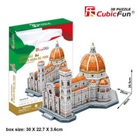 Cubic Fun Puzzle 3D Basilica Of Saint Mary Of The Flower (Large Size)