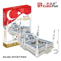 Cubic Fun Puzzle 3D Blue Mosque (Large Size)