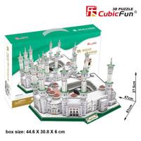 Cubic Fun Puzzle 3D Masjid AL-Haram (Large Size)