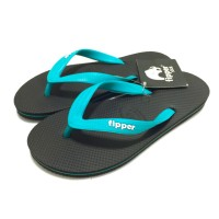 Fipper - Sandal Slick Fipper - Black Blue Sky (SKBLK07)