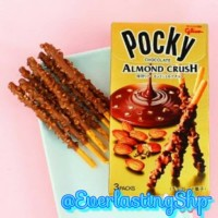 Glico Pocky Almond Crush (Import Japan)