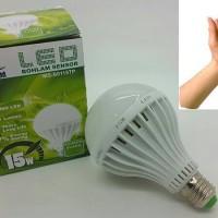 Lampu LED Sensor Suara Tepuk Tangan 15 W / Lampu LED Terang
