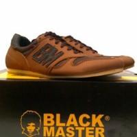 Sepatu Casual Pria Black Master 184